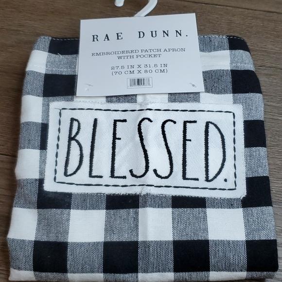 Rae Dunn BLESSED. Apron